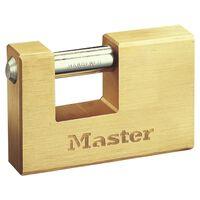 Master Lock forstærket hængelås massiv messing 85 mm 608EURD