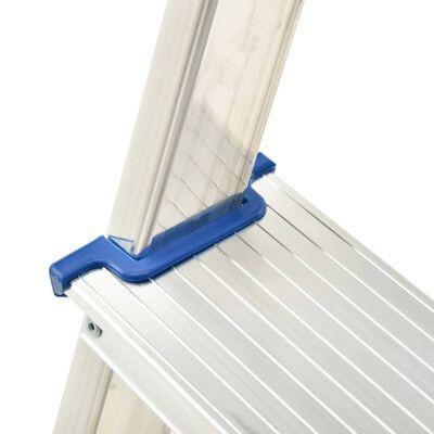 vidaXL dobbeltsidet trappestige 3 trin 67 cm aluminium