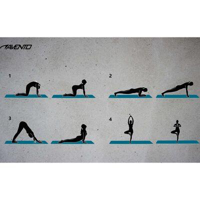 Avento yogamåtte NBR-skum grå