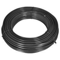 vidaXL hegnstråd 80 m 2,1/3,1 mm stål grå