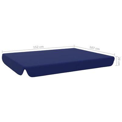 vidaXL udskiftelig baldakin til havegynge 192x147 cm blå