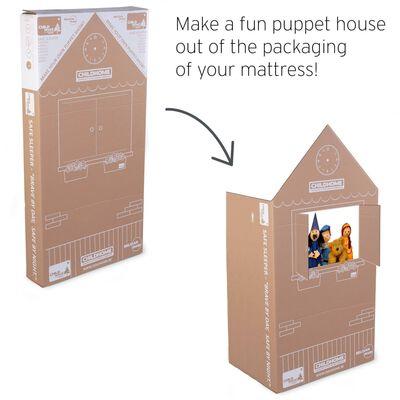 CHILDHOME madras Basic Safe Sleeper 120x60x10 cm