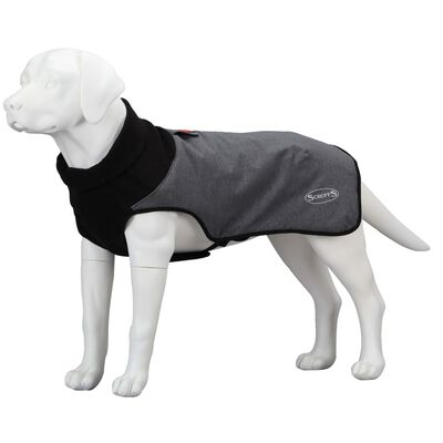 Scruffs & Tramps termisk hundejakke XXL grå