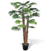 Kunstigt palmetræ med potte 180 cm