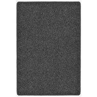 vidaXL tæppe tuftet 160 x 230 cm antracitgrå
