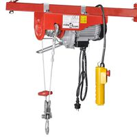 vidaXL elektrisk hejseværk 1000 W 300/600 kg