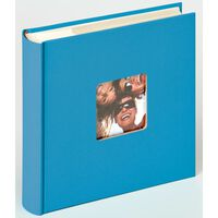 Walther Design fotoalbum Fun Memo 10x15 cm 200 billeder havblå