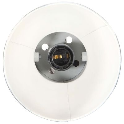 vidaXL gulvlampe med 2 lampeskærme E27 støbejern sort
