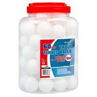 Get & Go bordtennisbolde 60 stk. ABS hvid