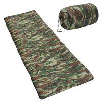 vidaXL sovepose til børn 670 g 15 °C rektangulær camouflagedesign