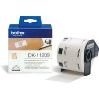Printer labels Brother DK11209 62 x 29 mm Hvid