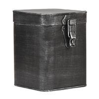 LABEL51 opbevaringskasse 15x16x19 cm str. L antik sort