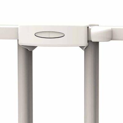 Noma forlængelig sikkerhedslåge 62-102 cm metal hvid 93361
