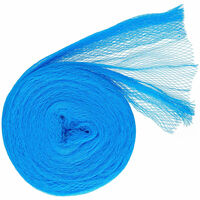 Nature fuglenet Nano 5 x 4 m blå