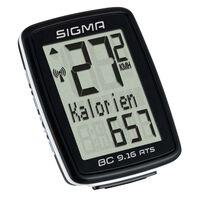 Sigma cykelcomputer BC 9.16 ATS sort 9162