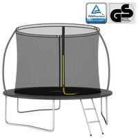 vidaXL trampolinsæt rund 305x76 cm 150 kg