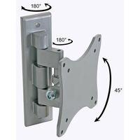 Perel Swivel Mounting Bracket For Flatscreen 25-38 cm Silver CWB008