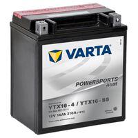 Varta AGM Batteri 12 V 14 Ah YTX16-4 / YTX16-BS