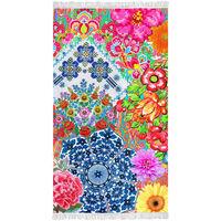 Happiness badehåndklæde ZAIRA 100x180 cm flerfarvet