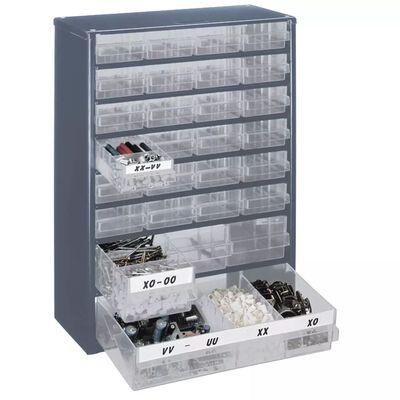 Raaco Værktøjskabinet 928-123 med 28 skuffer 137492