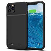 Backup batteridæksel 5000 mAh iPhone 11 Pro Max - sort
