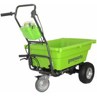 Greenworks selvkørende havevogn uden 40 V-batteri G40GC  7400007